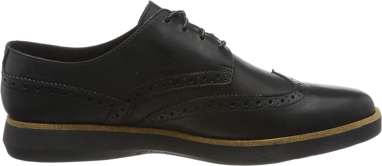 Clarks Fairford Walk, Baskets Homme Noir Black Leather Black Leather