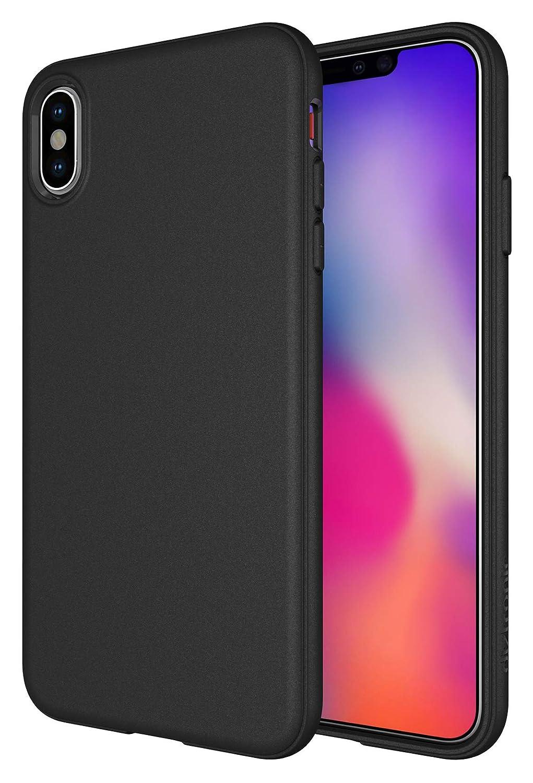 super popular 79aa3 f33e0 iPhone Xs Max Case, Diztronic Full Matte Soft Touch Slim-Fit Flexible TPU  Case for Apple iPhone Xs Max (Matte Black)