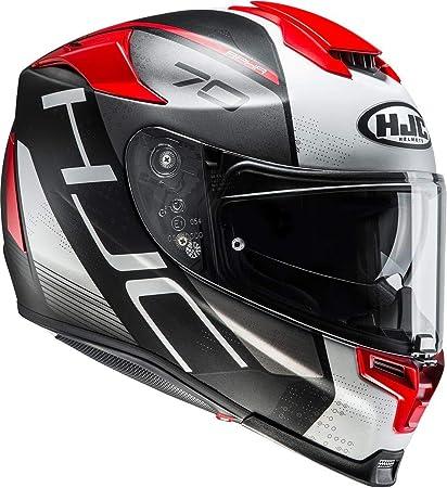 /peque/ño Casco rpha-70/St Grandal negro//rojo Full Face casco/