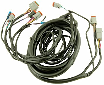 71ky5U8 ZOL._SX355_ amazon com evinrude johnson wiring kit 1996 & newer models, 15ft Fraitliner Diesel Wireing Harness at gsmx.co