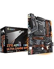 GIGABYTE Z370 AORUS Ultra Gaming WiFi (Intel LGA1151/ATX/2xM.2/Front USB 3.1/SLI Motherboards)