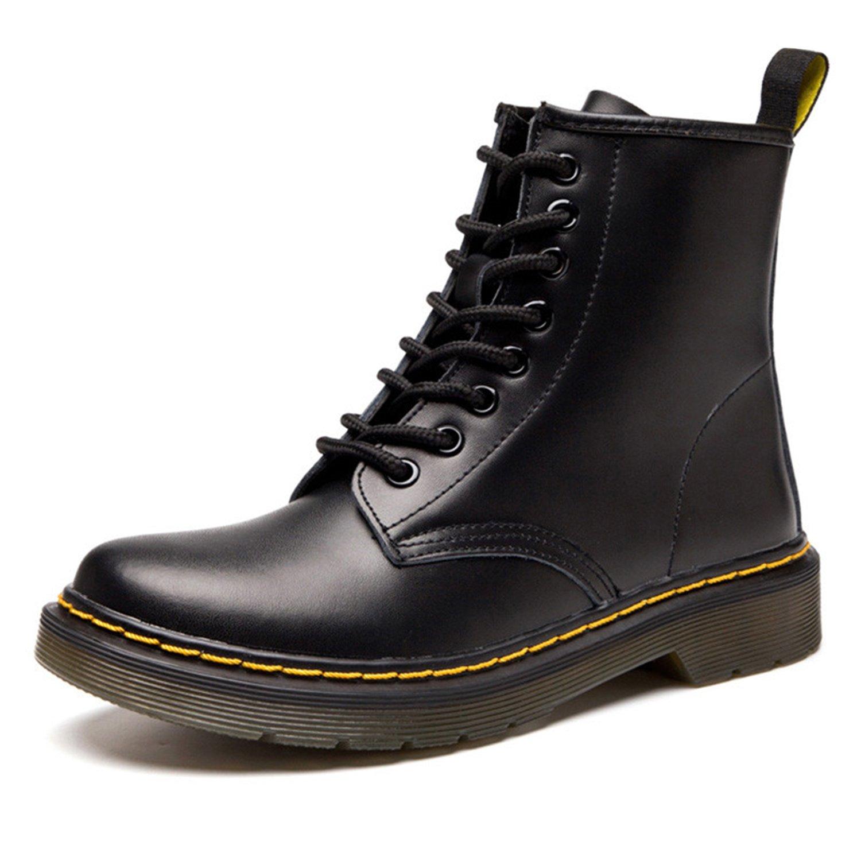 bf8b61eacdf672 ukStore Botte Femme Fourrées Boots Hiver Homme 19991 Martin Martin Bottes  Cuir Bottines Plates Fourrées Boots Chaussures Lacets Classiques Chaudes ...