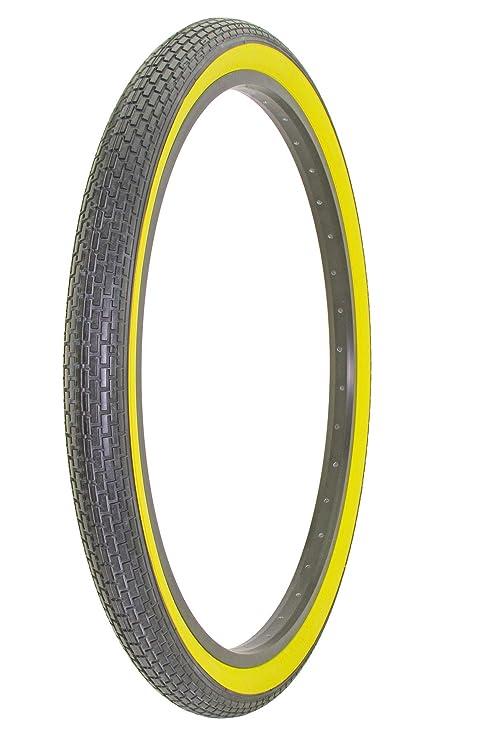 Yellow Wall Duro 26 x 2.125 Brick Beach Cruiser Mountain Wide Bike Bicycle Tires