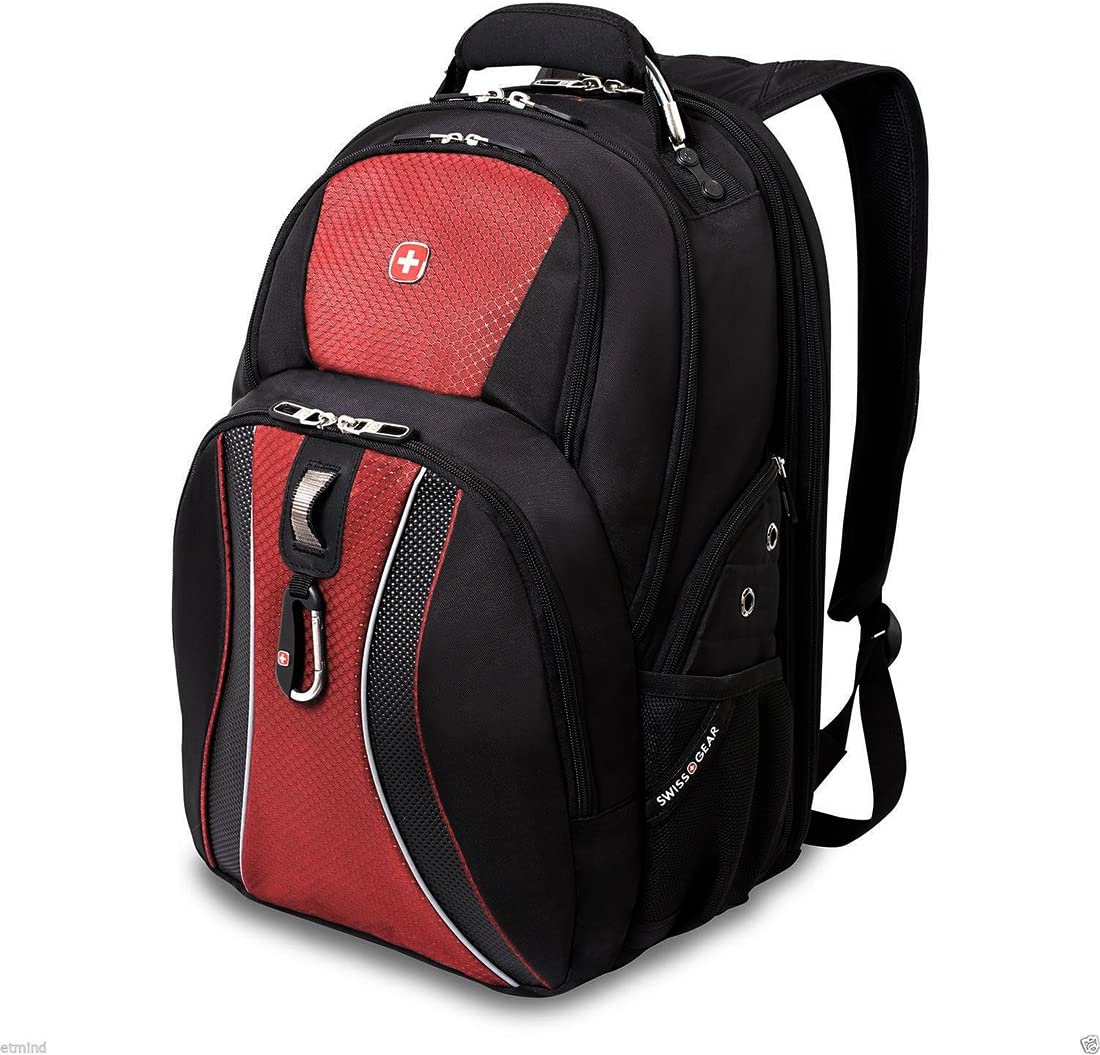 SwissGear ® Scansmart Laptop Backpack, Multiple Colors (Red)