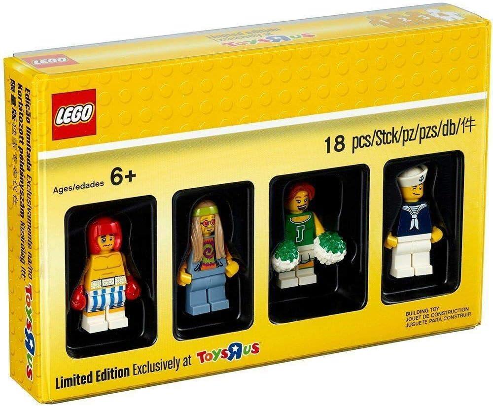 LEGO 2017 Bricktober Set 4 Boxer, Hippie, Female Cheerleader, and Sailor (5004941)