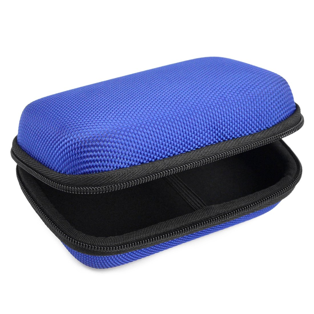 Geekria Hard Shell Media Player Carrying Case for FiiO M3 X1 X3 X5 X7/Protective Travel bag (Blue)