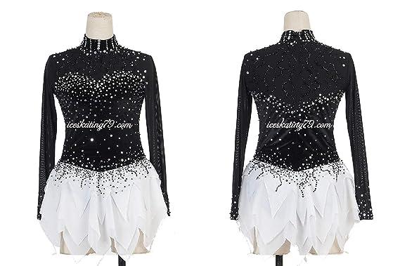 Amazon.com: Liana patinaje sobre hielo vestido/niña Custom ...