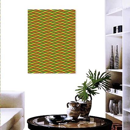 Amazon Com Anyangeight Rasta Canvas Wall Art Bedroom Home