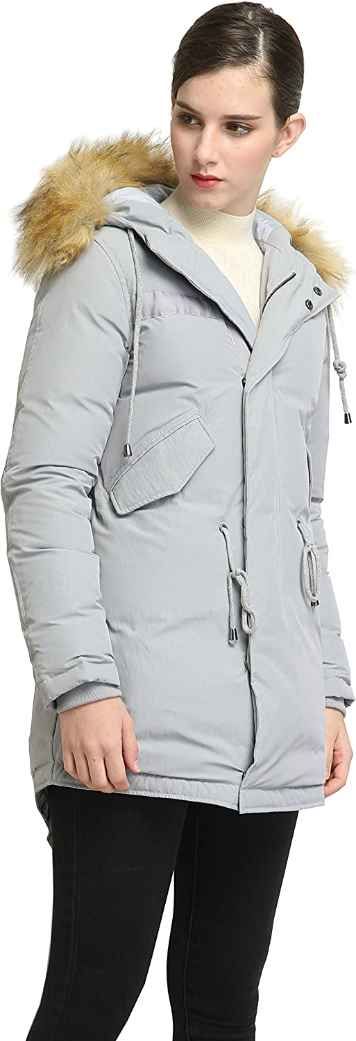 xtsrkbg Womens Packable Comfy Lightweight Jacket Reversible Down Coat