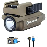 Olight PL Mini 2 Valkyrie Linterna 600 Lumen 100 metros de distancia LED blanco frío compacto magnético USB recargable…