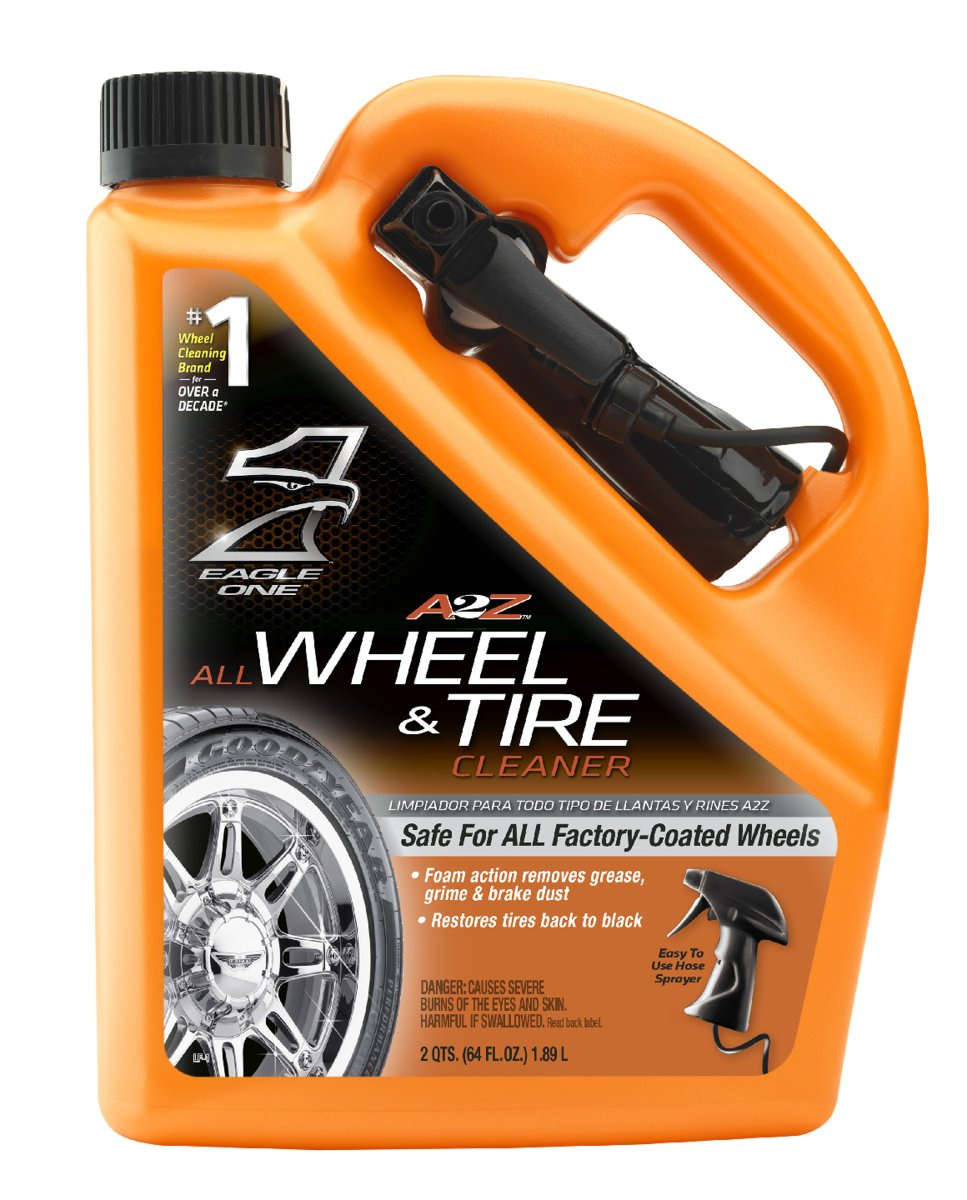 amazon com eagle one 854039 a2z all wheel and tire cleaner 64 fl
