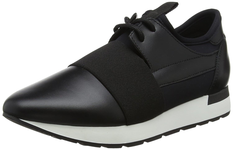 Pollini W.Sneakers, Zapatillas para Mujer 40 EU Negro (Neop+vit.nero 00a)