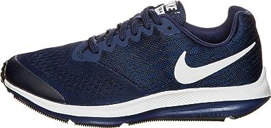 premium selection 04861 84cce Nike Zoom Winflo 4 (GS), Chaussures de Running Compétition Mixte Enfant,  Bleu