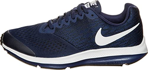Nike Zoom Winflo 4 (GS), Zapatillas de Running Unisex Niños, Azul (