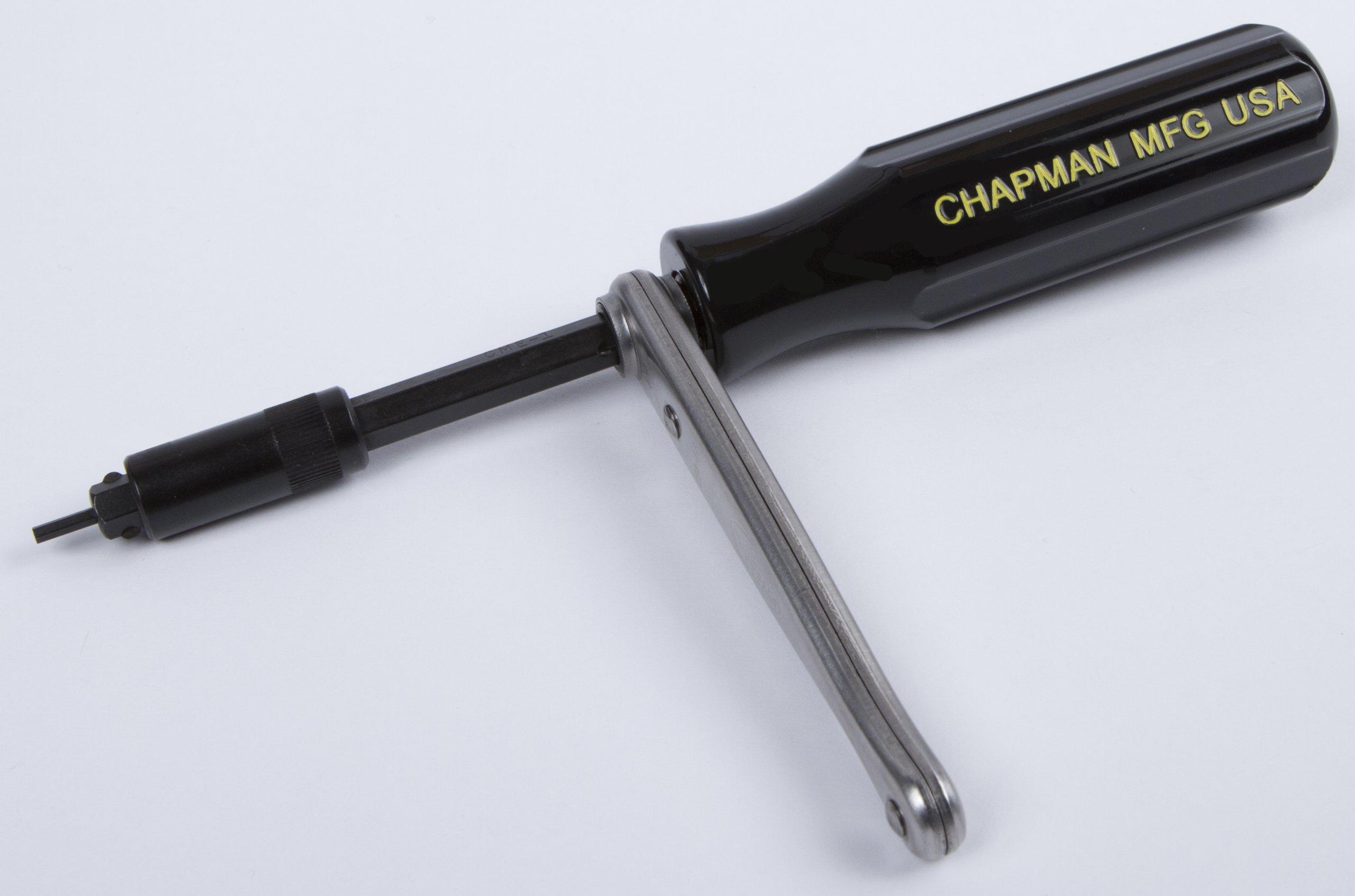 Chapman MFG 6810 Kit USA Made Allen Hex Kit + Torx/star Insert Bits hand tools Screwdriver Set