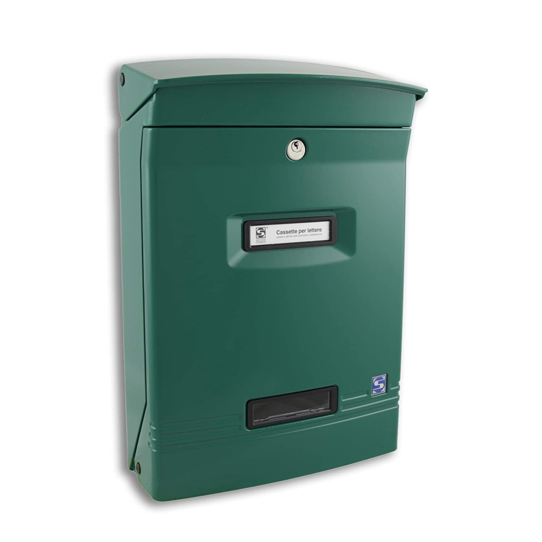 Cassetta posta gioiosa verde SILMEC