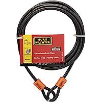 Sterling 850C - 8mm esterlina x cable recubierto de vinilo de doble bucle 5,0 m