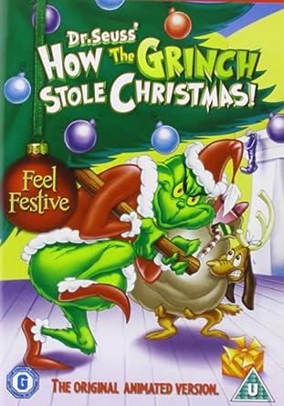 How The Grinch Stole Christmas 1966 Dvd.Amazon Com How The Grinch Stole Christmas Boris Karloff