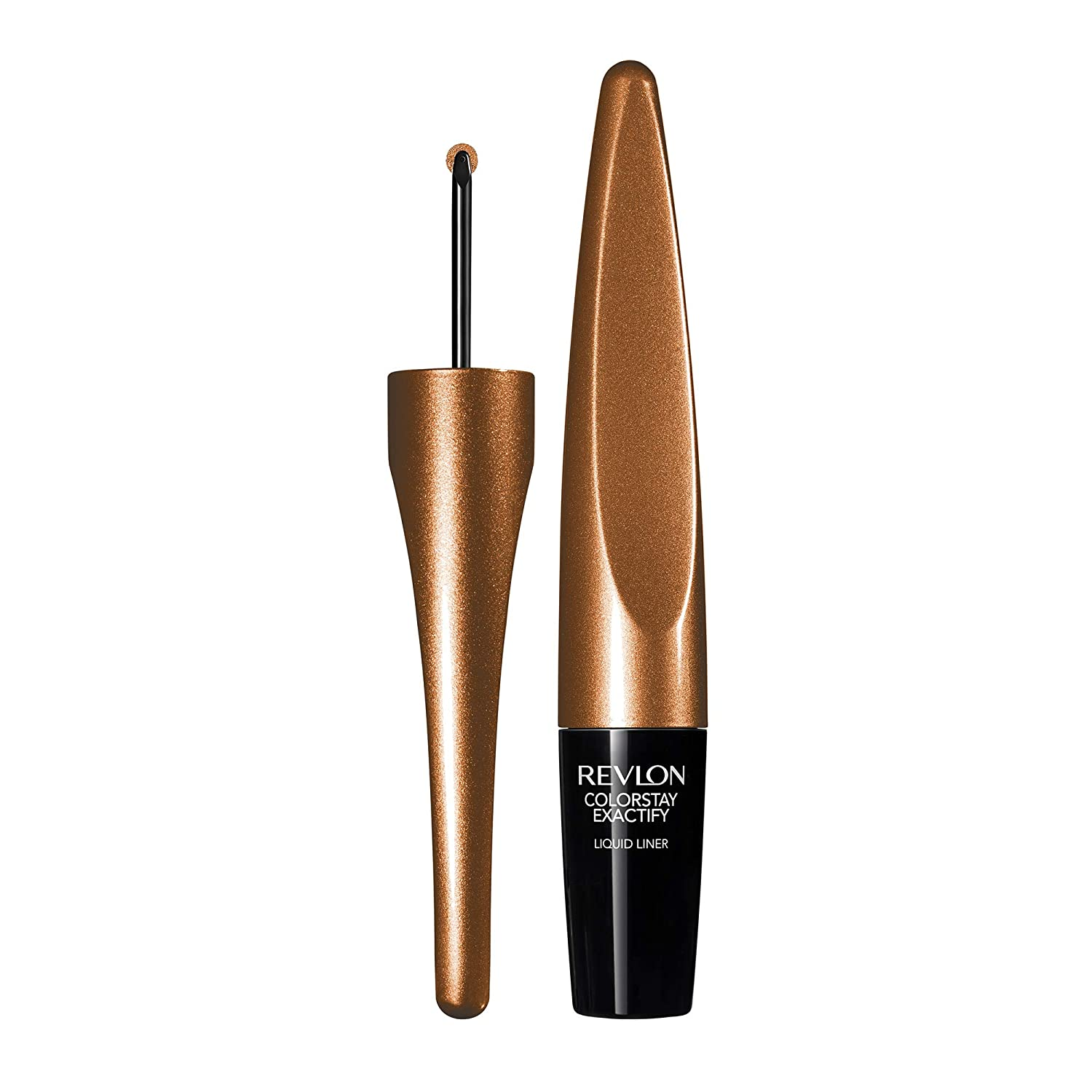 Revlon Colorstay Exactify Liquid Liner, Stunning Copper, 1.0 Fluid Ounce