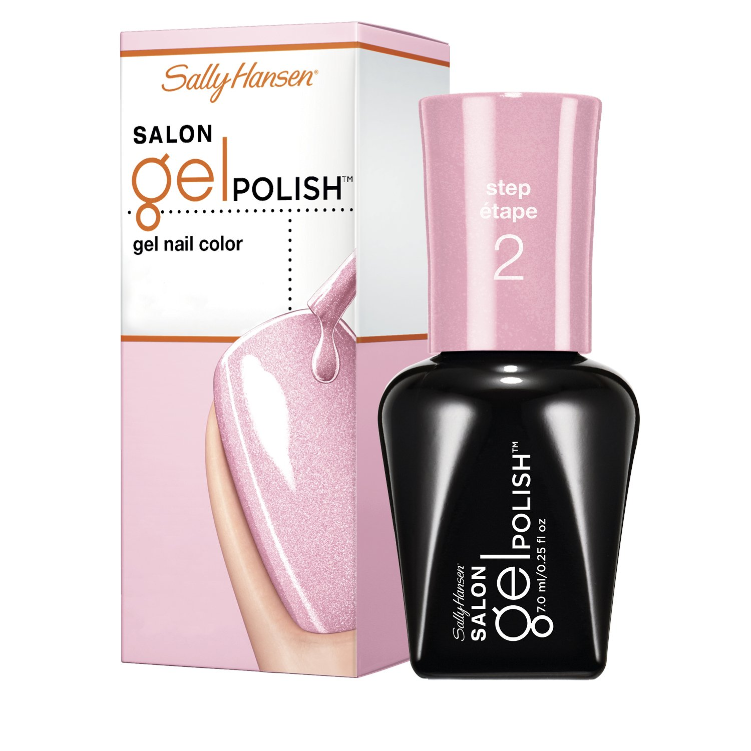 Sally Hansen Salon Pro Gel Nail Polish: Amazon.com: Sally Hansen Salon Gel Nail Polish, Pearls