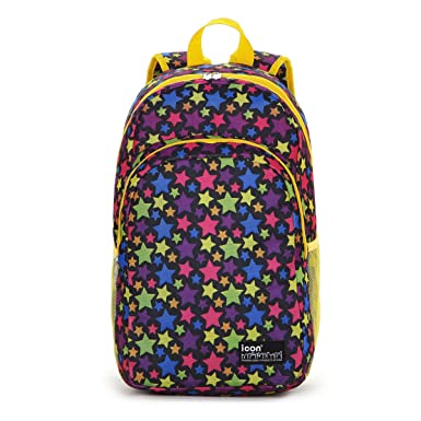 Amazon.com | Icon Cute Book Bags for Teenage Girls in Middle ...