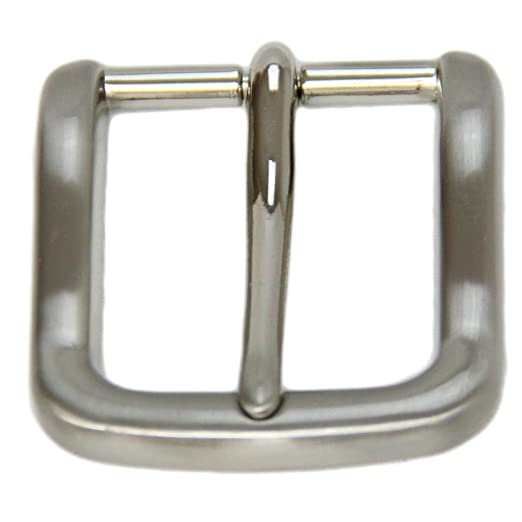 5cb04712b Replacement Belt Buckle For 1 3 8 Inch Width Brushed Nickel Finish ...