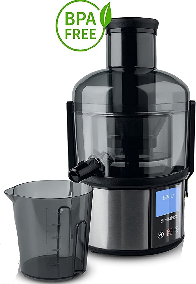 nice Touchscreen Smart Fruit & Vegetable Juicer by Simmero