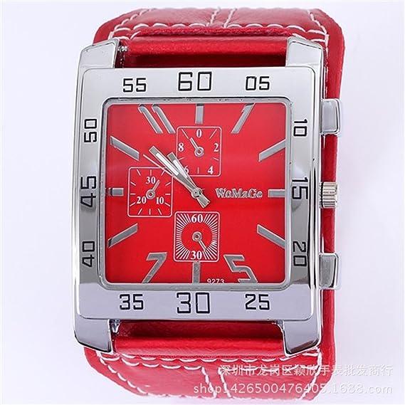 Relojes Descuento barato Womag Marca Ladies Versión Coreana De Factor Mercado: Amazon.es: Relojes