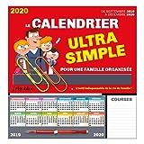 FrigoBloc Le calendrier ultra simple pour une famille organisée ! De Sept 2019 à Déc 2020