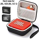 Flycoo Rigide Housse pour JBL GO/JBL GO 2 Bluetooth Speaker Enceinte Portable Etui Sac Zipper Case Protection Antichoc