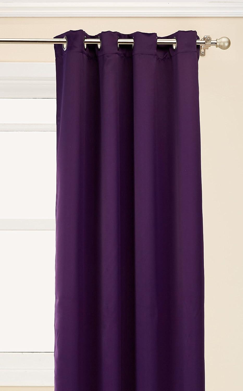 Purple Victoria Classics Neil Blackout 52X90 Grommet Panel 52 by 90,