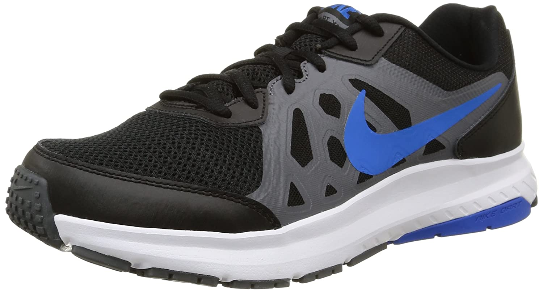 Nike Dart 11 Zapatillas de Running, Hombre 42 EU|Negro / Gris / Azul / Blanco (Black/Soar-dark Grey-white)