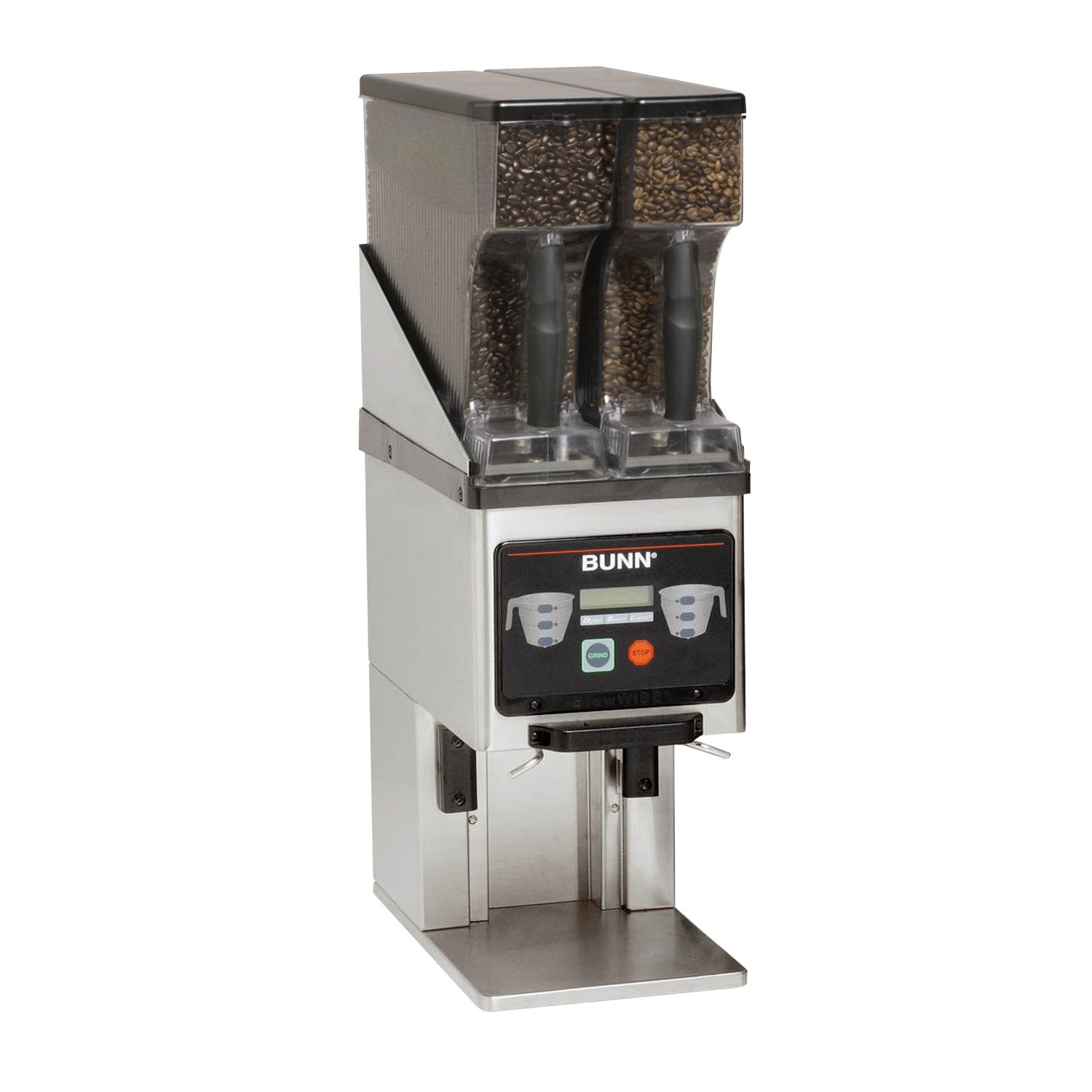 BUNN 35600.0020 Multi-Hopper Coffee Grinder & Storage System, Black/Stainless