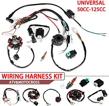 wiring harness kit for atv amazon com everrich quad wire harness suitable cdi wire harness  everrich quad wire harness suitable cdi