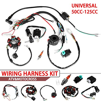 Everrich Quad Wire Harness Suitable-CDI Wire Harness embly Wiring Set- on chinese atv fuel tank, chinese atv fuel line, 50cc atv wiring harness, chinese atv fuel pump, tao tao atv wiring harness, chinese gy6 150cc engine, chinese atv intake manifold, chinese go kart ignition switch for, chinese atv voltage regulator, chinese atv oil cooler, chinese atv replacement parts, chinese atv engine diagram, chinese atv tail light, chinese four wheeler body parts, chinese dirt bike parts, chinese cdi wiring, chinese atv instrument cluster, chinese 200 atv wiring diagrams, chinese atv fenders,
