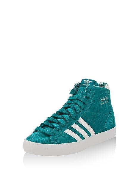 adidas Zapatillas Abotinadas Basket Profi W Verde EU 36: Amazon.es: Zapatos y complementos