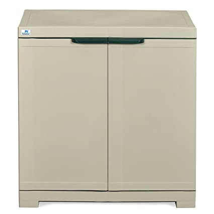 02fc21bfec6 Nilkamal Freedom Mini Small (FMS) Plastic Storage Cabinet (Grey)   Amazon.in  Home   Kitchen