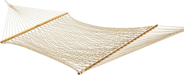 Original Pawleys Island 13DCOT Large Duracord Rope Hammock, Oatmeal