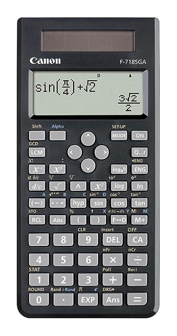 10 opinioni per Canon F718SGA Calcolatrice Scientifica Antibatterica