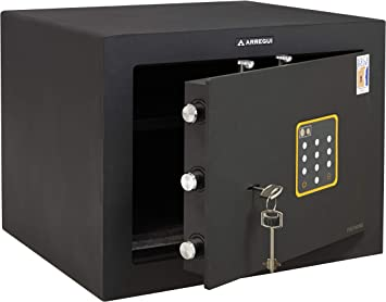 Arregui 15000C Caja Fuerte con Blindaje Anti-taladro, Negro ...