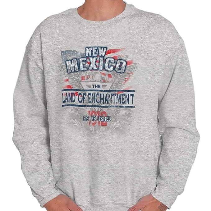 Classic teaze nuevo México Estado American Eagle US T Shirt patriótica Idea de regalo sudadera - Gris - : Amazon.es: Ropa y accesorios