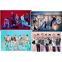 BigHit BTS-Love Yourself 結 Answer [F Ver.] 2CD + Photocard + pliée Poster [Kpop Marché Boutique Cadeaux: 10Photos, 4Extra Photocards, Debout Membre de la poupée (Random)]