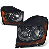 DNA MOTORING HL-OH-035-SM-AM Headlight Assembly, Driver and Passenger Side
