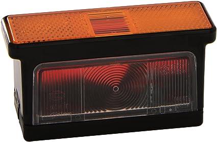 Hella 2xs 007 841 021 Umrissleuchte R10w 12v 24v Lichtscheibenfarbe Gelb Weiß Rot Anbau Geschraubt Einbauort Rechts Seitlicher Anbau Auto