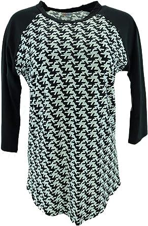 Lularoe Randy Medium Black And Mint At Amazon Women S Clothing Store