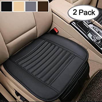 BMW M Series Universal Race Sport Black Cushioned Front Seat Cover