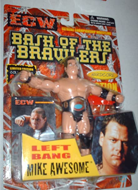 Amazoncom Ecw Bash Of The Brawlers Mike Awesome Rare Toys Games