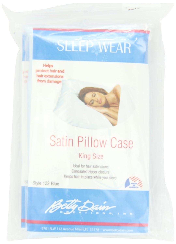 Betty Dain Satin Pillowcase, Black, (Pack of 2) 121-BLK-2PK