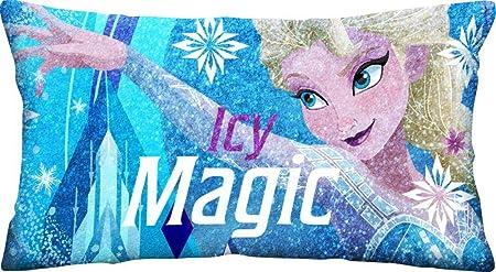 Disney Frozen Cojin Velour con Brillo 70x35x12cm, Única ...
