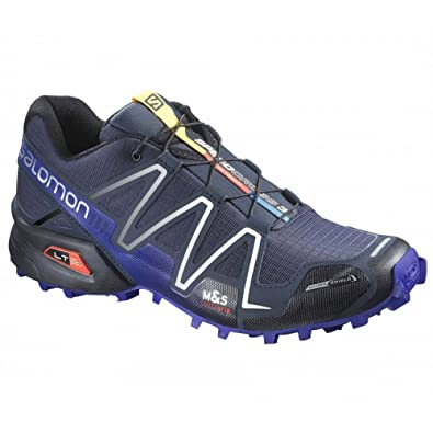 Salomon Zapatillas Speedcross 3, hombre, color azul 43.3: Amazon.es: Zapatos y complementos